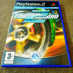 Joc NFS, Need For Speed Underground 2, PS2, original, alte sute de jocuri! - Jocuri PS2 Ea Games, Curse auto-moto, Toate varstele, Single player