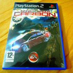 NFS, Need For Speed Carbon, PS2, original, alte sute de jocuri! - Jocuri PS2 Ea Games, Curse auto-moto, Toate varstele, Single player