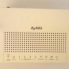 Routere Wireless ZYXEL P-661H-F1 300Mbps 3G / (978), Porturi LAN: 4, Porturi WAN: 4