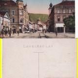 Brasov, Brasso, Kronstadt - Klostergasse - Carte Postala Transilvania 1904-1918, Necirculata, Printata
