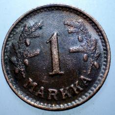 1.032 FINLANDA 1 MARKKA 1951 EROARE, Europa, Cupru (arama)