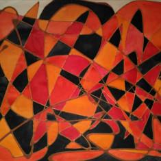 Abstract - ART DECO, tehnica mixta - Pictor roman, An: 1950, Guasa