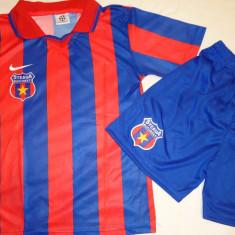 ECHIPAMENTE FOTBAL, STEAUA - COPII 7-12 ANI, - Set echipament fotbal Adidas, Marime: L, M, S