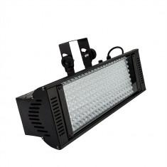 Proiector UV blacklight profesional, 198 LED-uri, DMX, 10 moduri iluminare - Decoratiuni petreceri copii