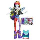 My little pony Papusa Rainbow Dash Sporty style B3776 Hasbro