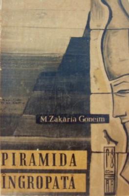 Piramida ingropata   -   M. Zakaria Goneim foto