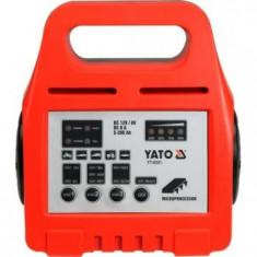 Redresor auto Yato YT-8301, 8 A, 5-200 Ah, Microprocesor