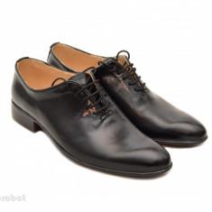 Pantofi barbati piele naturala negri casual-eleganti cod P65N - Editie de LUX, Marime: 37, 38, 39, 40, 41, 42, 43, 44, 46, Culoare: Alb, Bleumarin, Maro, Negru