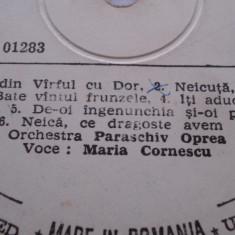 Disc vinil - Maria Cornescu - Muzica Populara