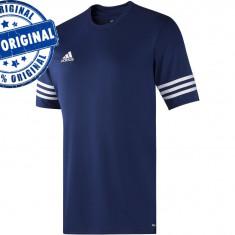 Tricou barbat Adidas Entrada - tricou original - Tricou barbati Adidas, Marime: M, Culoare: Albastru, Maneca scurta, Poliester