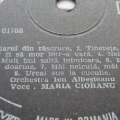 Disc vinil - Maria Ciobanu - Muzica Populara