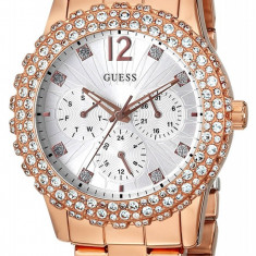 Ceas GUESS U0335L3 - Ceas Roz, Gold - Ceasuri Dama, Femei - 100% AUTENTIC - Ceas dama Guess, Fashion, Quartz, Inox, Analog