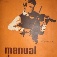 MANUAL DE VIOARA VOL.2 AN 1977/310PAG= GEANTA - MANOLIU