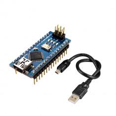 Placă de Dezvoltare Compatibilă cu Arduino Nano (ATmega328p și CH340) şi Cablu 50 cm