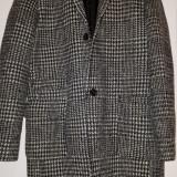 Palton barbati ZARA MAN din lână 100% XL Fabricat in Portugalia, Culoare: Din imagine
