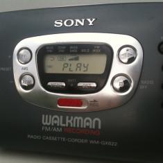 Sony Walkman radio casetofon recorder cu inregistrare reportofon functional