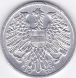 Moneda Austria 1 Shiling 1957 - KM#2871 XF+/aUNC ( EROARE - surplus de metal )