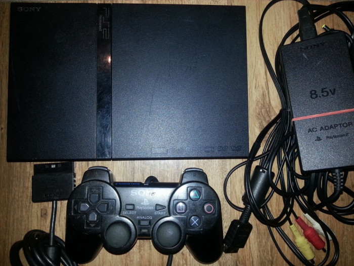 Playstation 2, ps2 ps 2 complet + 1 joc KARATE, LUPTE - FIGHTING cadou