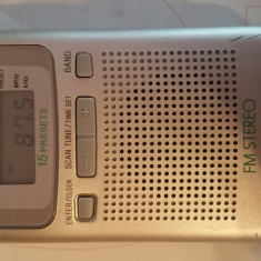Radio portabil sony digital sony srf-m806 - Aparat radio