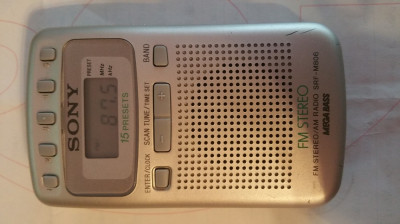 radio portabil sony digital sony srf-m806 foto