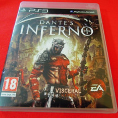 Joc Dante's Inferno, PS3, original, alte sute de jocuri! - Jocuri PS3 Ea Sports, Sporturi, 3+, Multiplayer