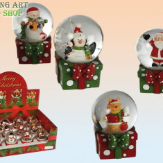 Glob pe cutie cadou