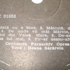 Disc vinil - Ileana Sararoiu - Muzica Populara