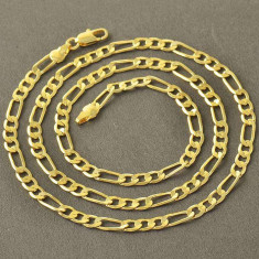 Lant Barbati dublu placat aur 18k Cod produs: 4311 - Lantisor placate cu aur, Unisex