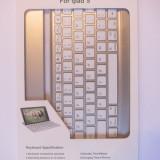 Tastatur? Bluetooth Mobile pentru Ipad 5 (ipad air 1/2) - Taste albe