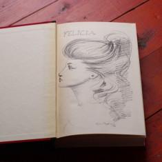 Carte limba italiana - Felicia de Andrea de Nerciat anul 1966 - 394 pagini ! - Carte in italiana