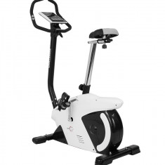 Bicicleta ergometru Hiton Challenger-alba - Bicicleta fitness SPORTMANN