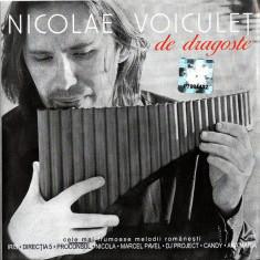 Nicolae Voiculet - De Dragoste (1 CD) - Muzica Ambientala cat music