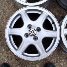 JANTE ORIGINALE VW 15 4X100 - Janta aliaj Volkswagen, Latime janta: 6, Numar prezoane: 4