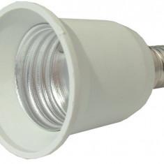 Adaptor dulie E14 - E27