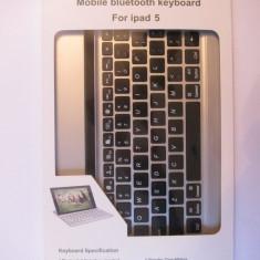Tastatur? Bluetooth Mobile pentru Ipad 5 (ipad air 1/2) - Taste negre - Tastatura tableta
