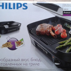 Grill Philips HD6360, 2000 W - Gratar electric