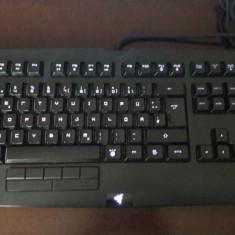 Tastatura Gaming Razer Anansi - Tastatura PC Razer, Cu fir, USB, Tastatura iluminata