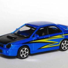 Subaru Impreza WRX - Albastru - 1:43 Street Fire - Masinuta Bburago