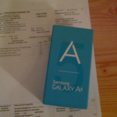 Samsung Galaxy A5 Negru - Telefon Samsung, Vodafone, Single SIM