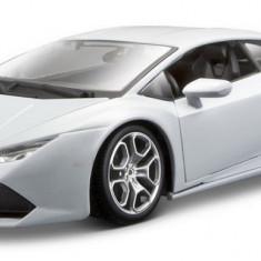 Lamborghini Huracan LP 610-4 - Arginiu - Minimodel auto 1:18 - Masinuta Bburago