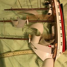 Corabie din lemn- Mircea- trimit prin posta - Macheta Navala