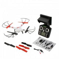 FPV Drona Quadcopter WlToys V686G, Camera, 2.4 GHZ, Telecomanda cu LCD