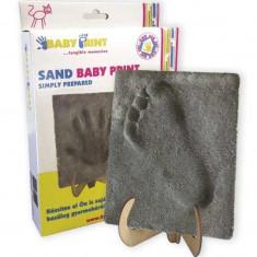 Baby print sand - Decoratiuni petreceri copii