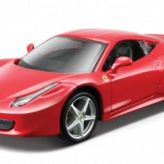 Ferrari 458 italia - Red - Minimodel auto 1:32 Ferrari Race&Play - Masinuta Bburago