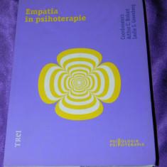 ARTHUR C BOHART, LESLIE S GREENBERG - EMPATIA IN PSIHOTERAPIE - Carte Psihologie, Trei