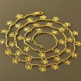 Set de bijuterii Butterfly dublu placat aur 18k,lantisor si bratara cod BT16
