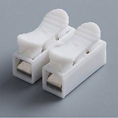 Regleta/Conector rapid 2P 250V 10A banda LED
