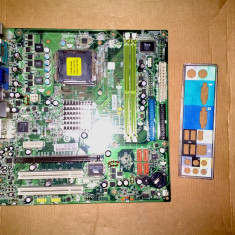 Placa de baza socket 775 Acer - defecta, Pentru INTEL, LGA775, DDR2, MicroATX