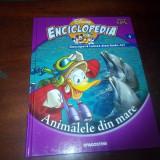 ENCICLOPEDIA DISNEY volumul 4 ANIMALELE DIN MARE - Carte educativa
