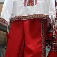 Costum popular traditional baiat 1-9 ani 100%bumbac - Costum populare, Marime: Marime universala, Culoare: Din imagine